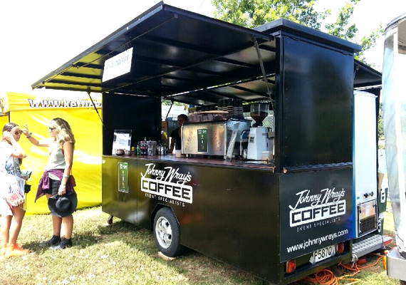 Our mobile Coffee Carts and Coffee Kiosks are available now for your next Conference, AGM, Trade Show or Special Event. Johnny Wray's Coffee can cater for between 50 to 50,000 guests, either in-doors or outside.